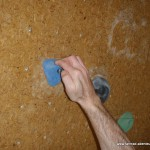 Bouldern-kleine Griffe