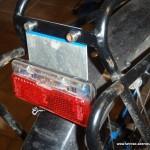 Tiefere Fahrrad-Rücklicht-Halterung