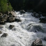 Schweres Wildwasser