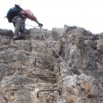 Outdoor-Sport Klettersteige