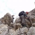 Mindelheimer Klettersteig-Steigleiter