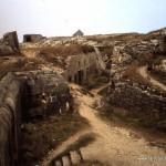 Bunker an der Bretagne-Küste