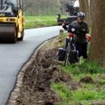 Brügge-Straße wird neu geteert