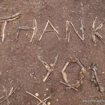 Wir sagen Danke