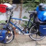 Fahrrad-Packtaschen und Packsäcke