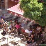 Wassernebel gegen die Hitze - Reiseinfos Frankreich