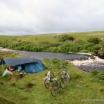 Zelten auf Skye - Schottland-Radreise