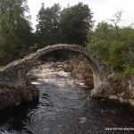Steinbrücke Carrbridge-Schottland