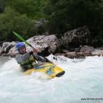 Wildwasser-Kajak-Freizeitsport