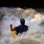 Wildwasser-Rodeo