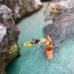 Wildwasser-Touren Soca Schlucht