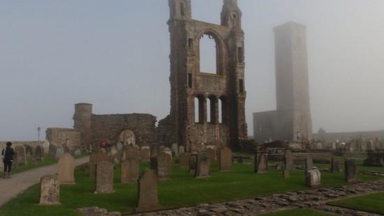 Die Stadt St Andrews in Schottland