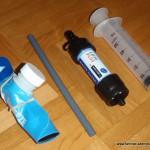 Outdoor Wasserfilter für Reise Trekking Radreise