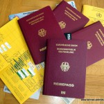 Dokumente auf Reisen
