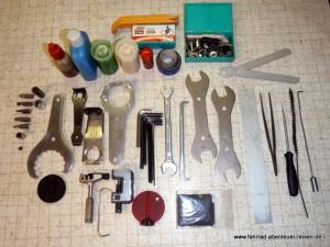 Unser Fahrrad-Werkzeug