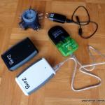 Stromversorgung auf Radreisen und Fahrradtouren