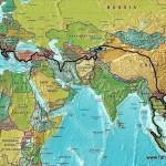Der Plan für die Reiseroute