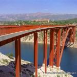 Maslenica-Brücke in Kroatien