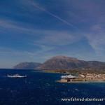 Meerenge bei Patras