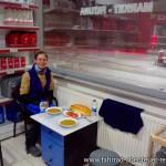 Dinner in der Tankstelle