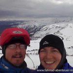 auf 2410 m Hoehe