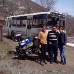 der Shuttle-Bus