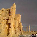Persepolis bei Sonnenschein