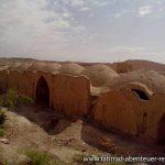 alte Behausungen aus Lehm