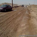 Lehmpiste in Turkmenistan