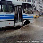 Wolkenbruch in Samarqand