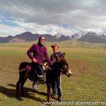 Reiten in Kirgistan