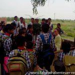 In einer Schule in Indien