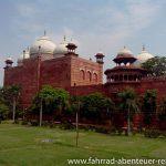 am Taj Mahal in Agra