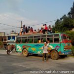 Bus in Indien