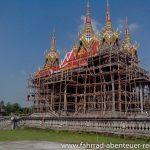 Bambus als Geruestmaterial in Nepal