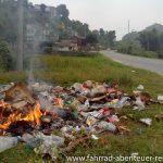 Müllentsorgung in Nepal