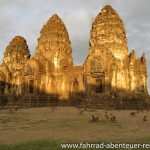Lop Buri - Affen am Tempel