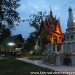 Vientiane zur blauen Stunde