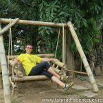 Bambus-Schaukel