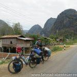 Karsttürme in Laos