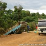 Unfall vor Pakse