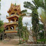 Tempelgebäude im Bau