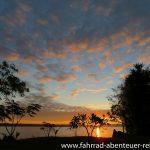 Sonnenaufgang am Mekong