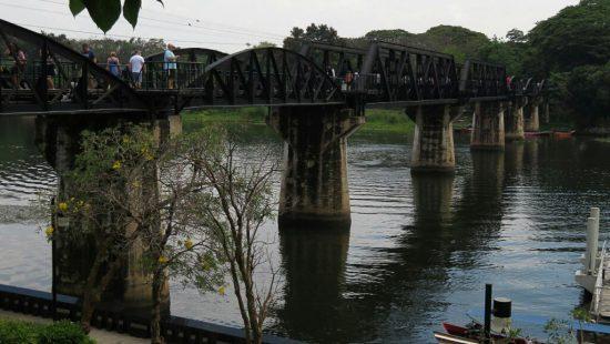 Die Brücke am Kwai in Thailand