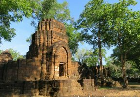 Mueang Sing Historical Park in Thailand