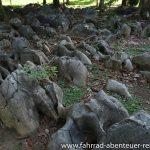 Steingarten im Mueang Sing Historical Park