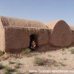 Lehmbauten in der Wüste