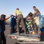 Hitchhiking im Iran