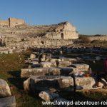 das Amphitheater von Milet