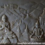 Marmor-Kunstwerke im Wat Dhammikarama
